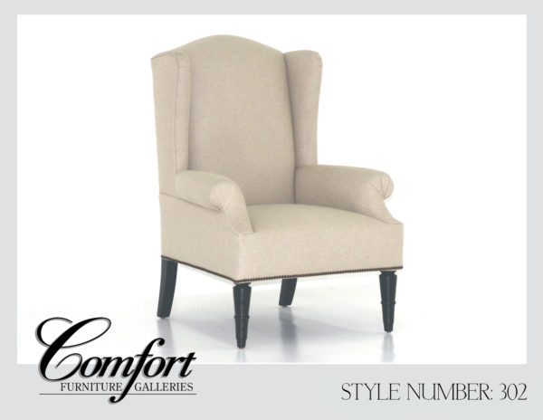 Wingback Chairs-302