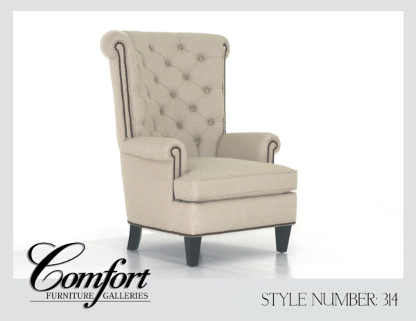 Wingback Chairs-314