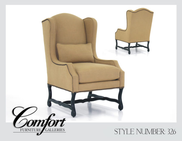 Wingback Chairs-326